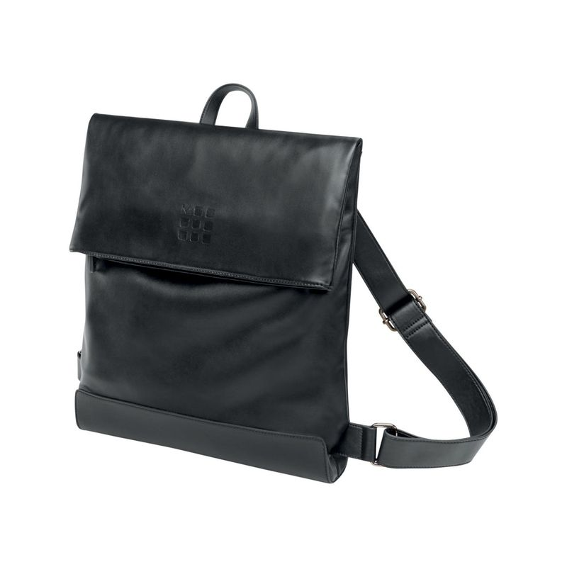 モレスキン メンズ スーツケース バッグ Classic Foldover Backpack Black
