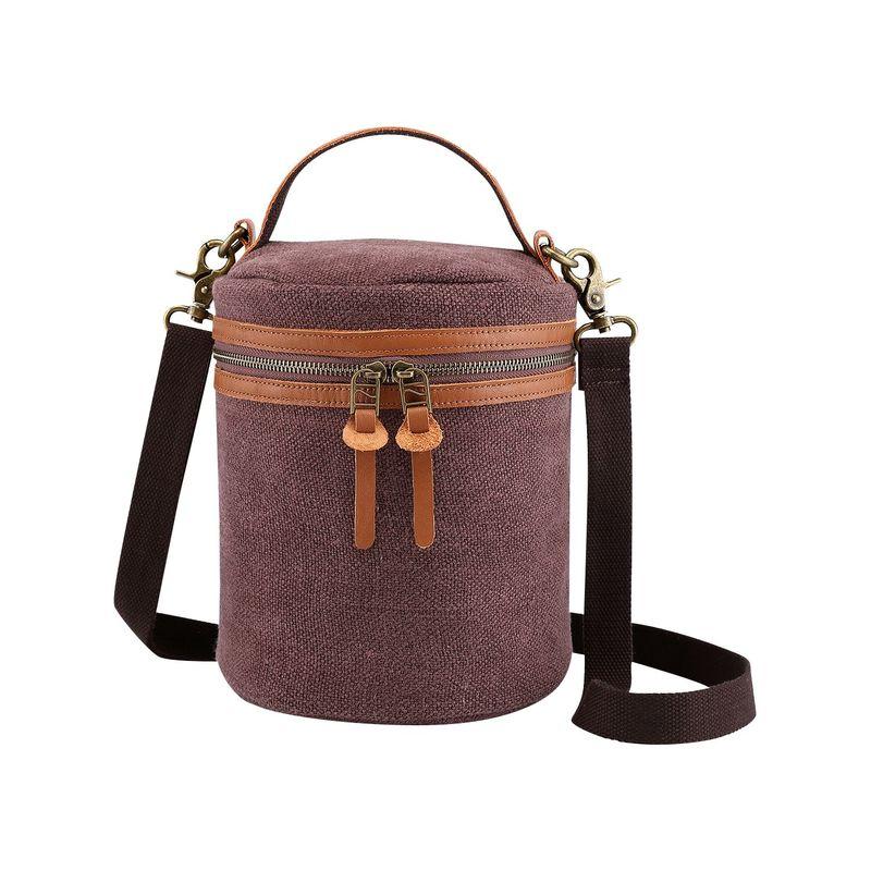 ティエスディー メンズ ボディバッグ・ウエストポーチ バッグ Pine Hill Canvas Bucket Bag Coffee