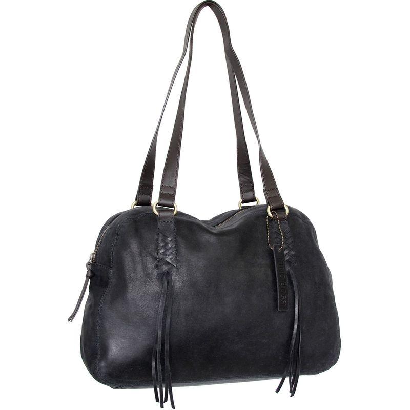 ニノボッシ メンズ ハンドバッグ バッグ Flick Bowler Bag Black