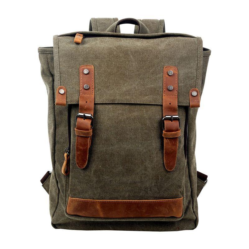 ティエスディー メンズ バックパック・リュックサック バッグ Discovery Backpack Olive