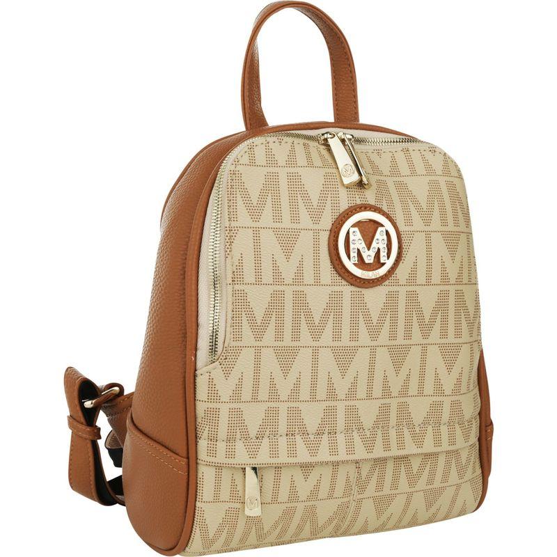 MKFコレクション メンズ バックパック・リュックサック バッグ Daliza M Signature Trendy Backpack Beige