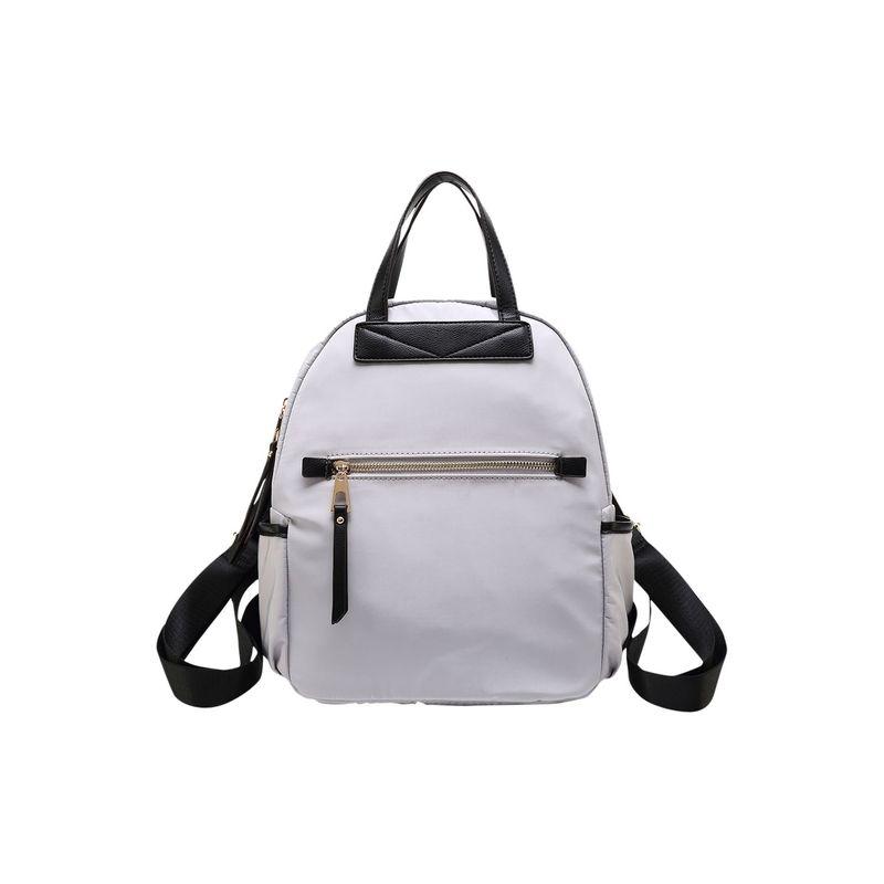 MKFコレクション メンズ バックパック・リュックサック バッグ Greer Nylon Backpack Light Grey