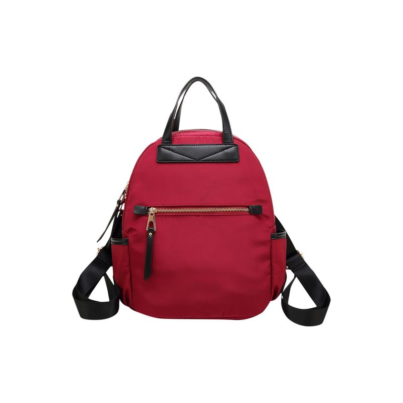 MKFコレクション メンズ バックパック・リュックサック バッグ Greer Nylon Backpack Red