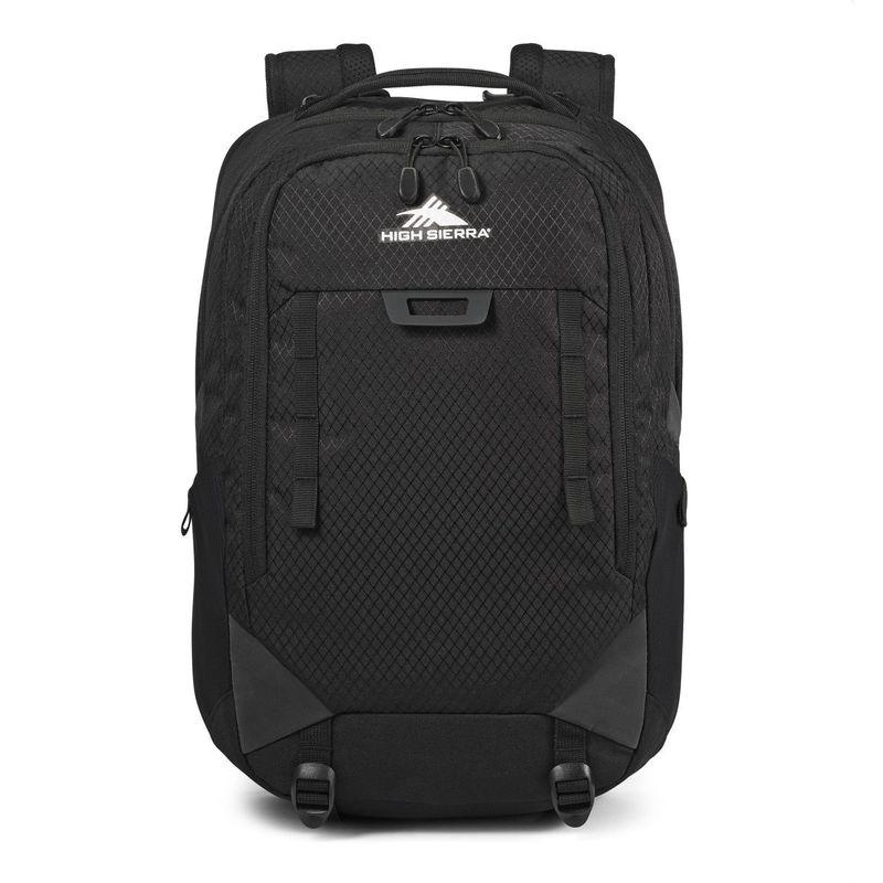 ハイシエラ メンズ バックパック・リュックサック バッグ Litmus Backpack Black