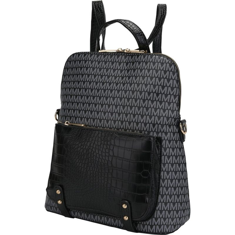 MKFコレクション メンズ バックパック・リュックサック バッグ Rede Signature Backpack Black