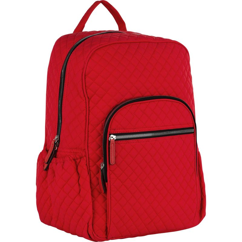 MKFコレクション メンズ バックパック・リュックサック バッグ Mycelia Quilted Backpack Red