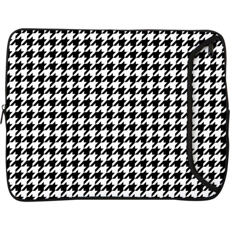デザイナースリーブス メンズ スーツケース バッグ 15 Designer Laptop Sleeve Hounds Tooth