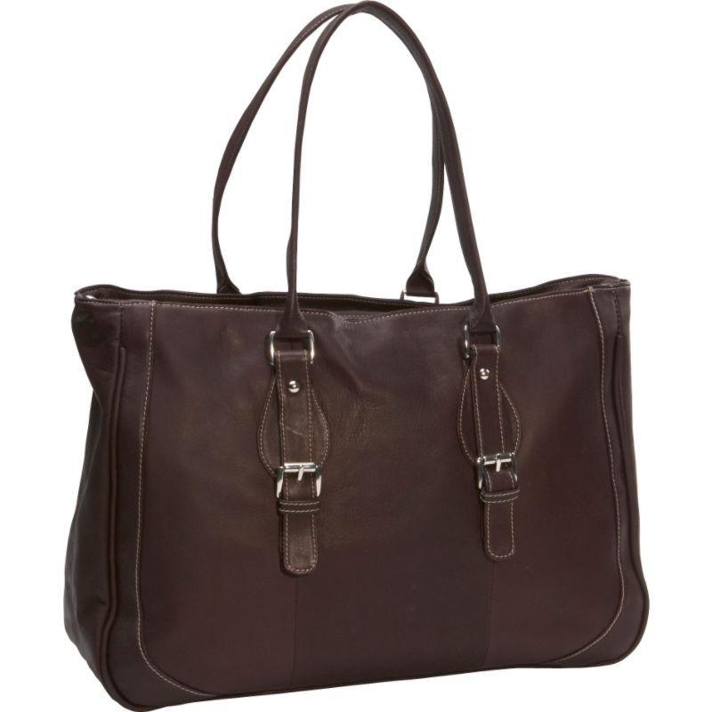 ピエール メンズ スーツケース バッグ Ladies Laptop Tote Bag Chocolate