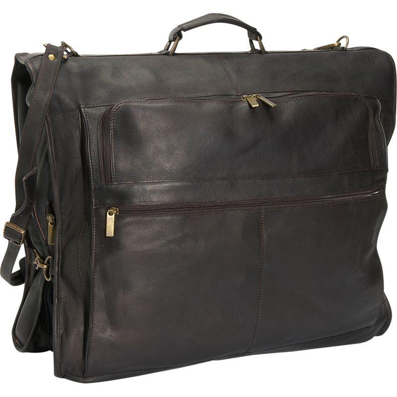 デビッドキング メンズ スーツケース バッグ 42 Deluxe Garment Bag Cafe