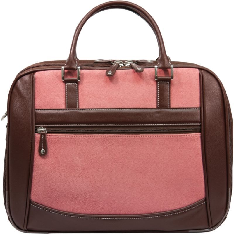 モバイルエッジ レディース スーツケース バッグ ScanFast Checkpoint Friendly Women's Element Laptop Bag - 16PC / 17 MacBook Pro Pink