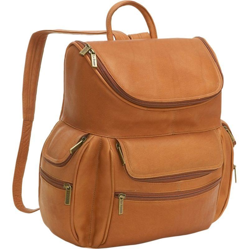 ルドネレザー メンズ スーツケース バッグ Computer Back Pack Tan