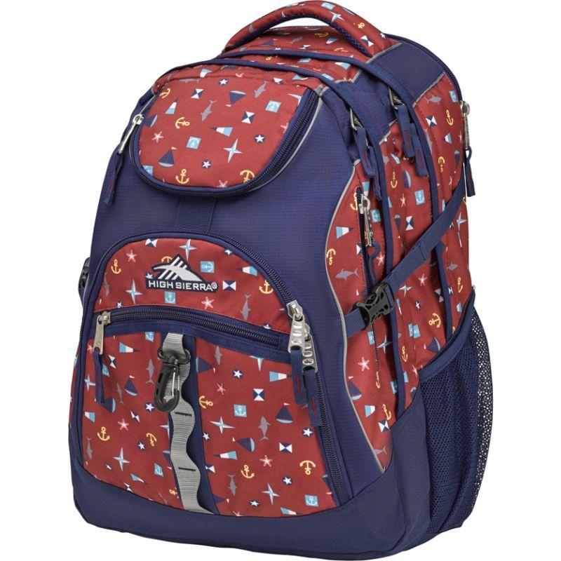 ハイシエラ メンズ バックパック・リュックサック バッグ Access Laptop Backpack - 17 Sail Away/True Navy