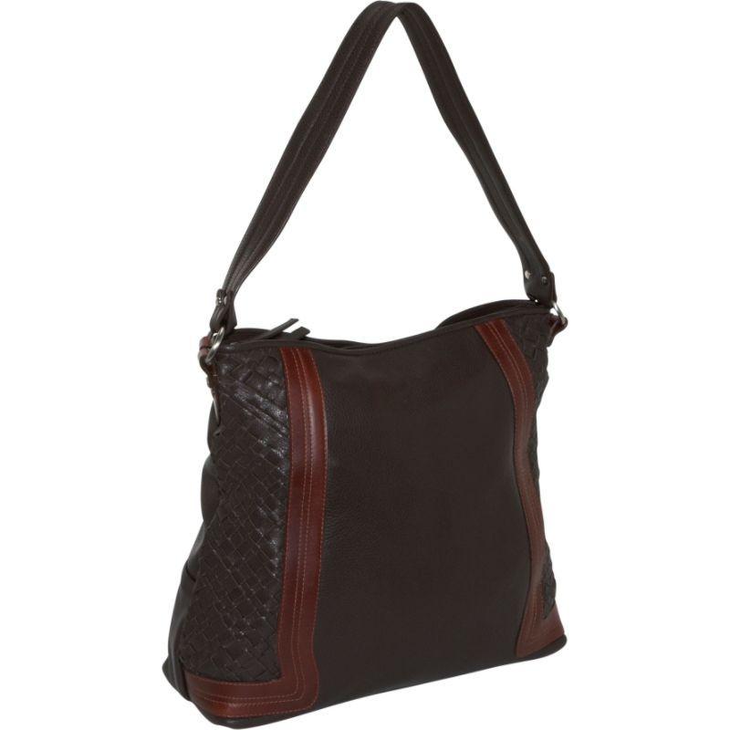 デレクアレクサンダー メンズ ショルダーバッグ バッグ Large Shoulder Bag Brown/Brandy