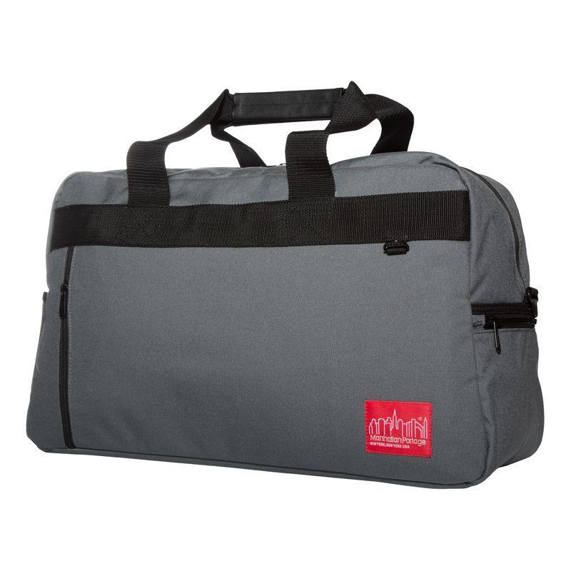 マンハッタンポーテージ メンズ スーツケース バッグ Duffel Bag Featuring CORDURA Brand Fabric Gray