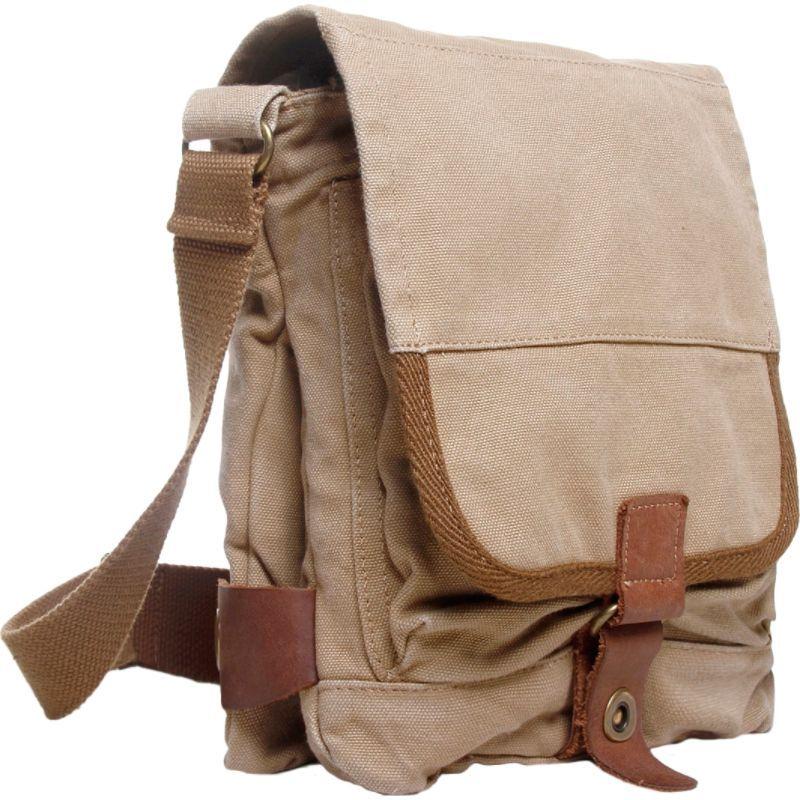 ヴァガボンドトラベラー メンズ ショルダーバッグ バッグ Tall 9.5 Small Satchel Shoulder Bag Khaki
