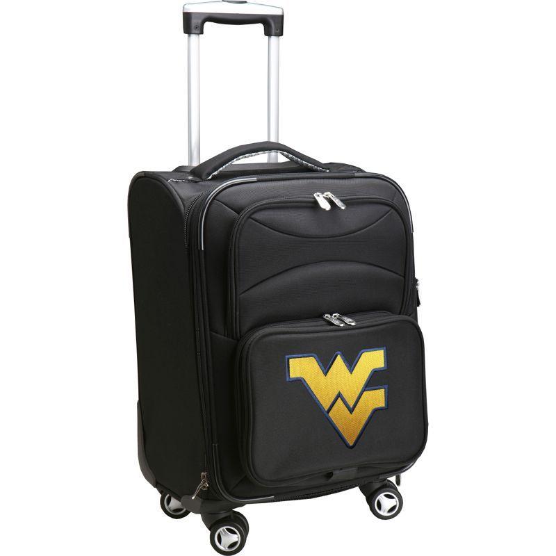 デンコスポーツ メンズ スーツケース バッグ NCAA 20 Domestic Carry-On Spinner West Virginia University Mountaineers