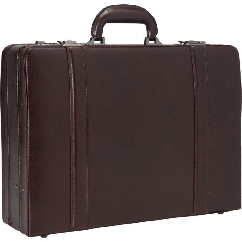 マンシニレザーグッズ メンズ スーツケース バッグ Expandable Attach Case Burgundy