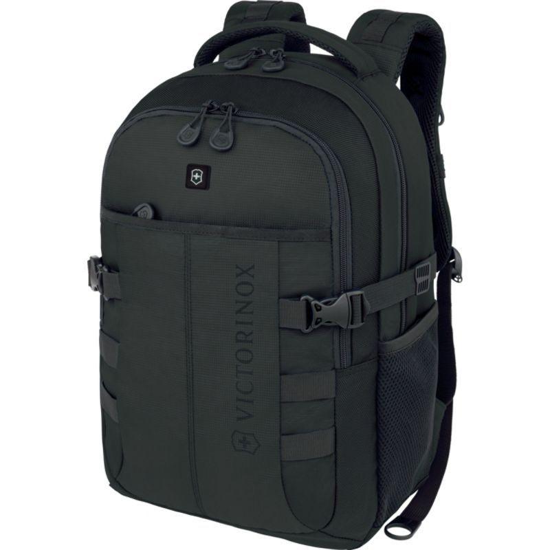 ビクトリノックス メンズ バックパック・リュックサック バッグ VX Sport Cadet Laptop Backpack Black/Black Logo