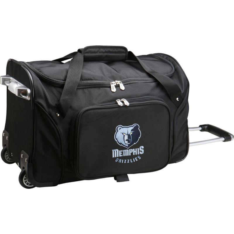 デンコスポーツ メンズ スーツケース バッグ NBA 22 Rolling Duffel Memphis Grizzlies