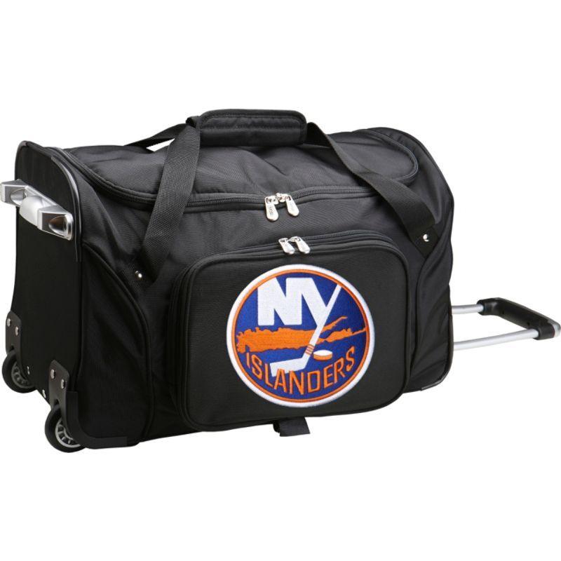 デンコスポーツ メンズ スーツケース バッグ NHL 22 Rolling Duffel New York Islanders