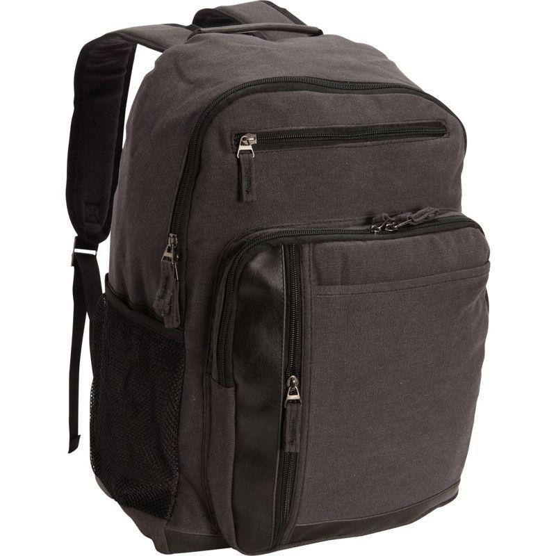 ベリノ メンズ スーツケース バッグ Tahoe Canvas Backpack Black
