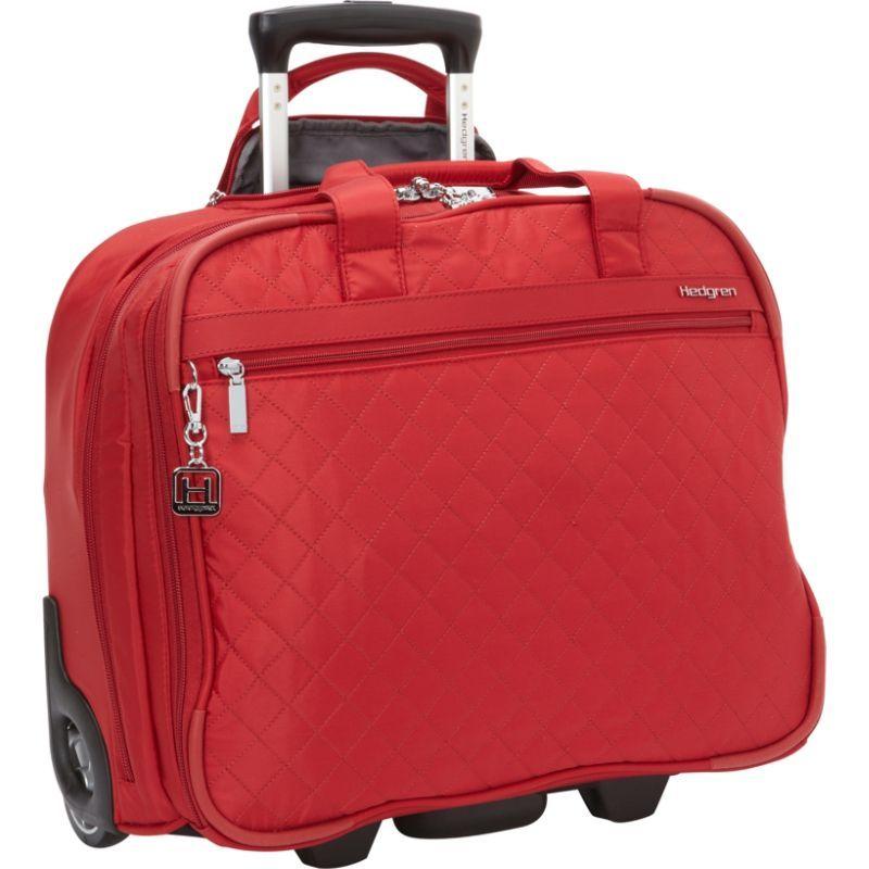 ヘドグレン メンズ スーツケース バッグ Cindy Rolling Underseat Business Tote New Bull Red