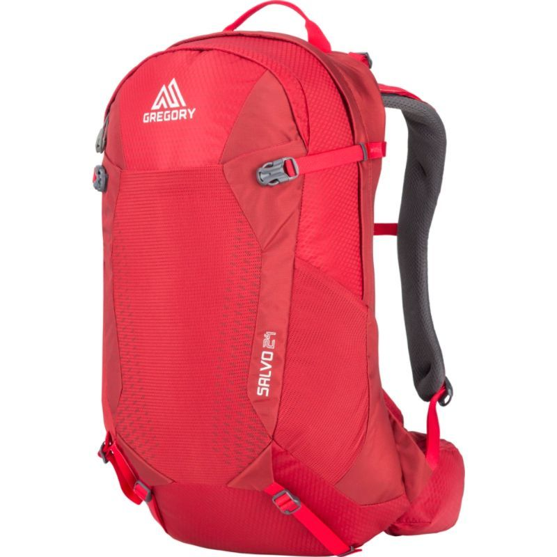 グレゴリー メンズ バックパック・リュックサック バッグ Salvo 24 Backpack Tango Red