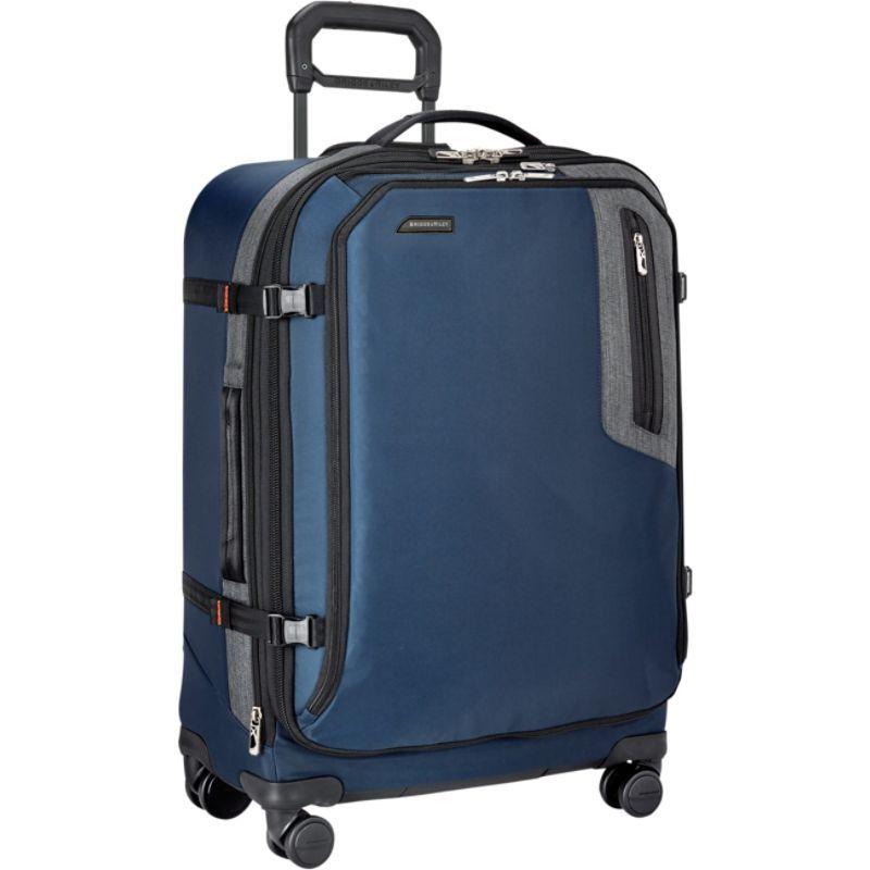 ブリグスアンドライリー メンズ スーツケース バッグ Explore Medium Expandable Spinner Blue