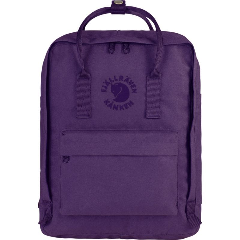 フェールラーベン メンズ バックパック・リュックサック バッグ Re-Kanken Backpack Deep Violet