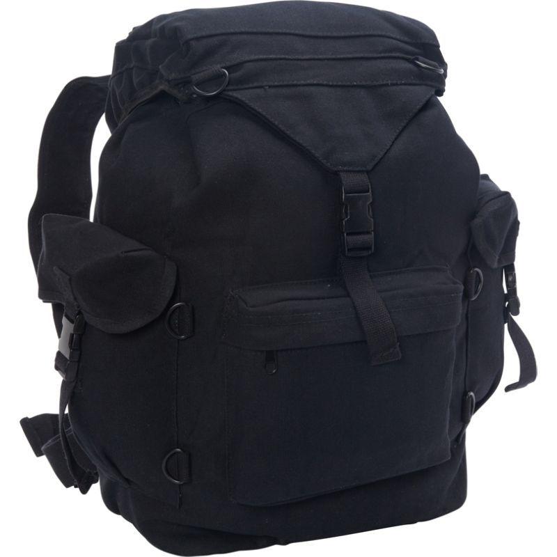 フォックスアウトドア メンズ バックパック・リュックサック バッグ Australian Style Rucksack Black