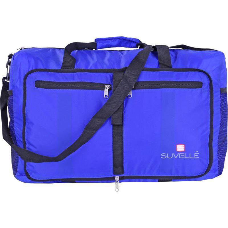 スベル メンズ スーツケース バッグ Lightweight 21 Travel Foldable Duffel Bag Blue
