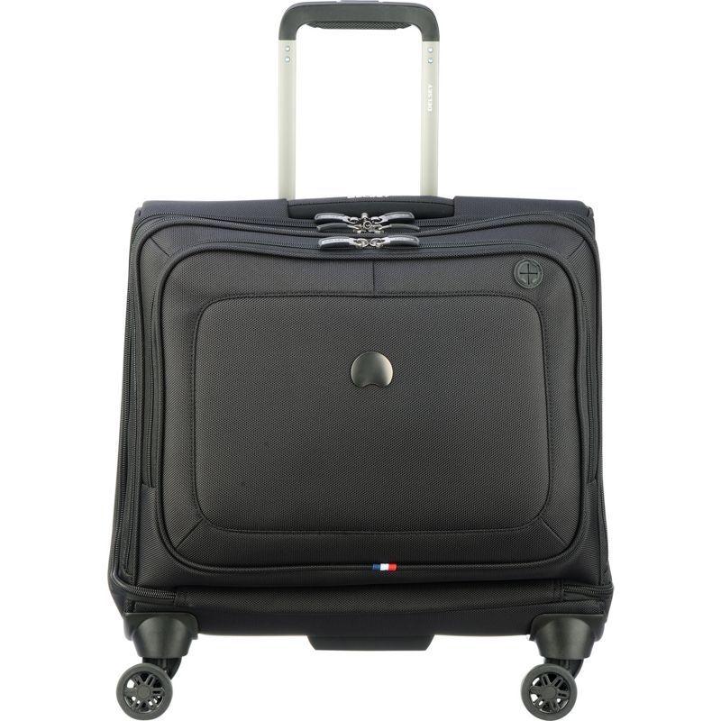 デルシー メンズ スーツケース バッグ Cruise Lite Soft Spinner Trolley Tote Black