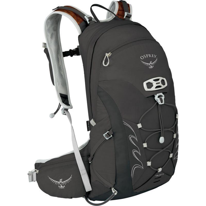オスプレー メンズ バックパック・リュックサック バッグ Talon 11 Hiking Pack Black - S/M