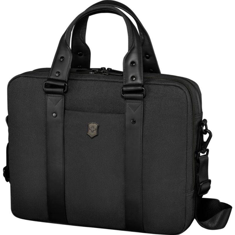 ビクトリノックス メンズ スーツケース バッグ Architecture Urban Bodmer 14 Laptop Brief Black
