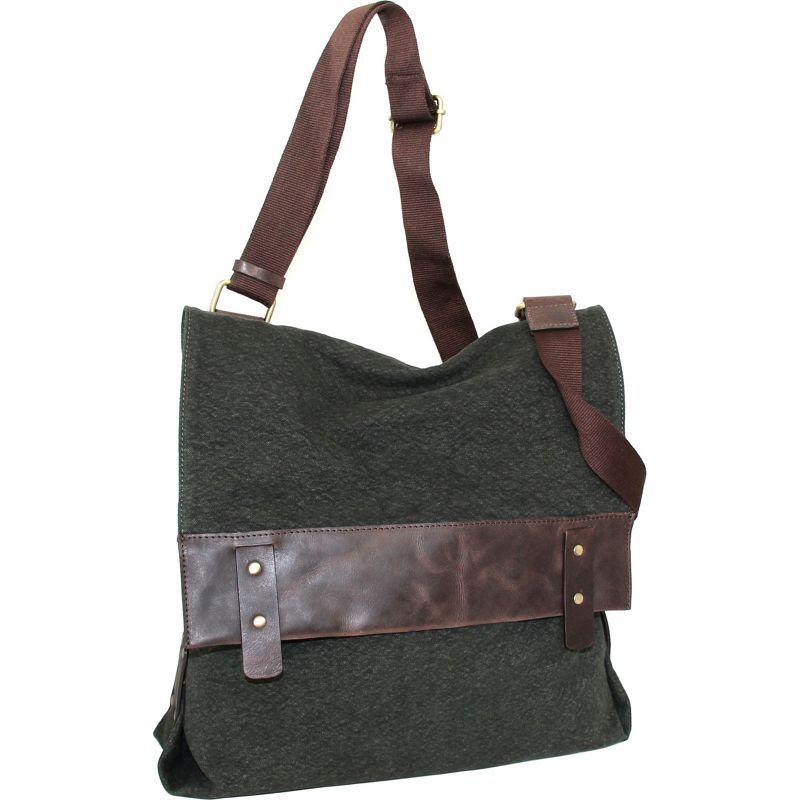ニノボッシ メンズ ボディバッグ・ウエストポーチ バッグ Trixy Messenger Bag Washed Green