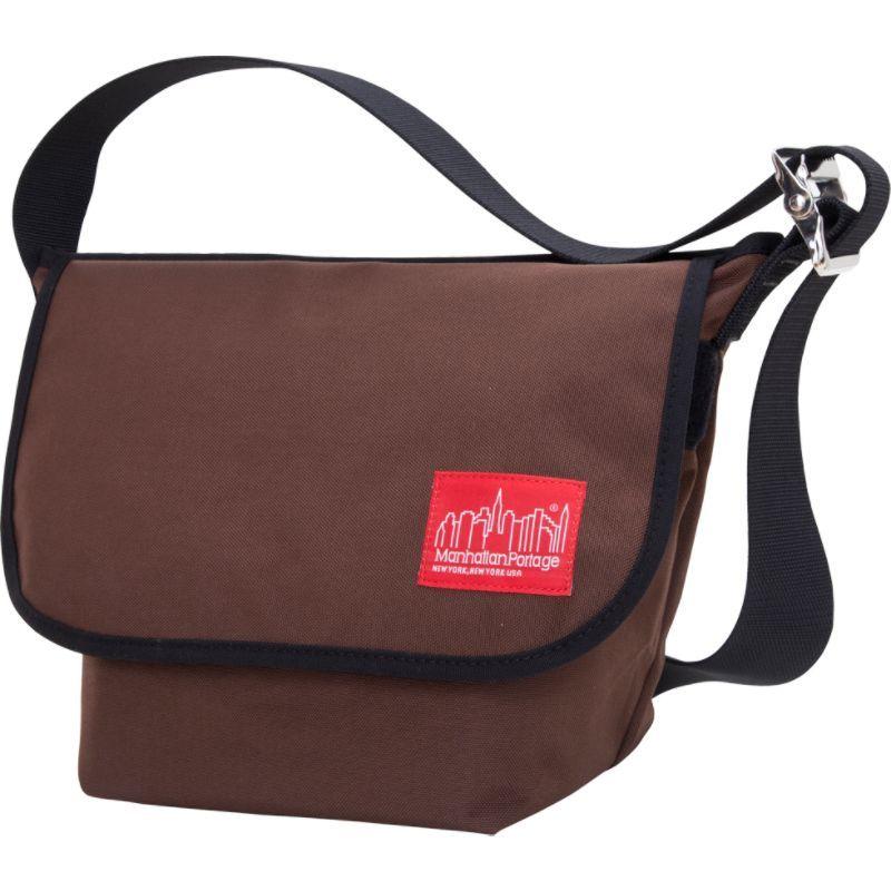マンハッタンポーテージ メンズ ショルダーバッグ バッグ Vintage Messenger Bag Dark Brown