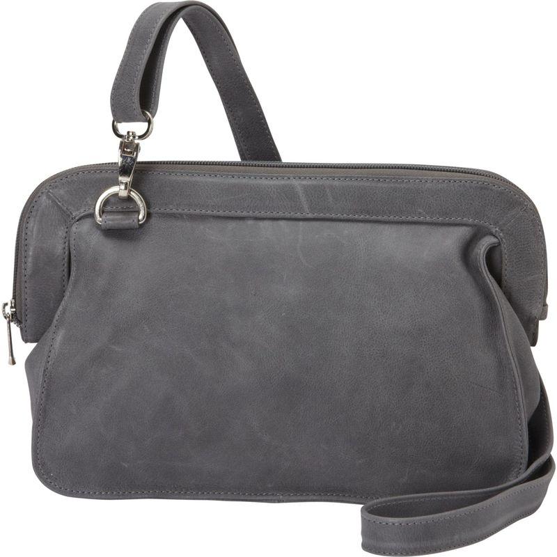 ピエール メンズ ショルダーバッグ バッグ Convertible Shoulder Bag Charcoal