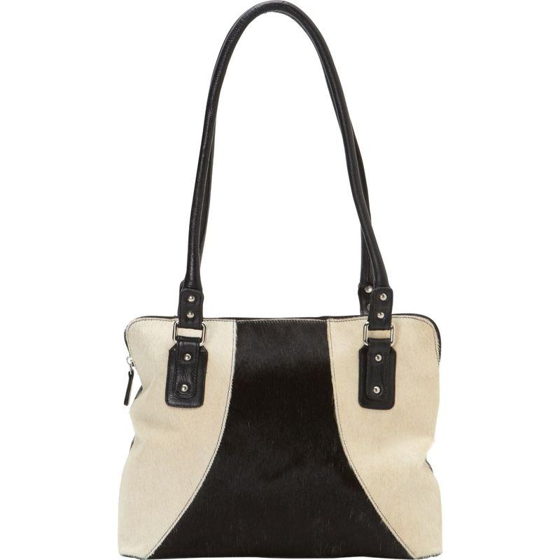 スカーリー メンズ ショルダーバッグ バッグ Haircalf Shoulder Bag White