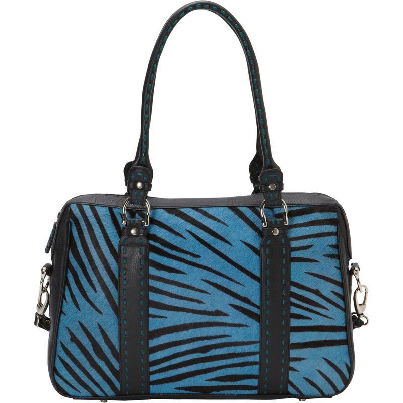 スカーリー メンズ ショルダーバッグ バッグ Haircalf Shoulder Bag Light Blue