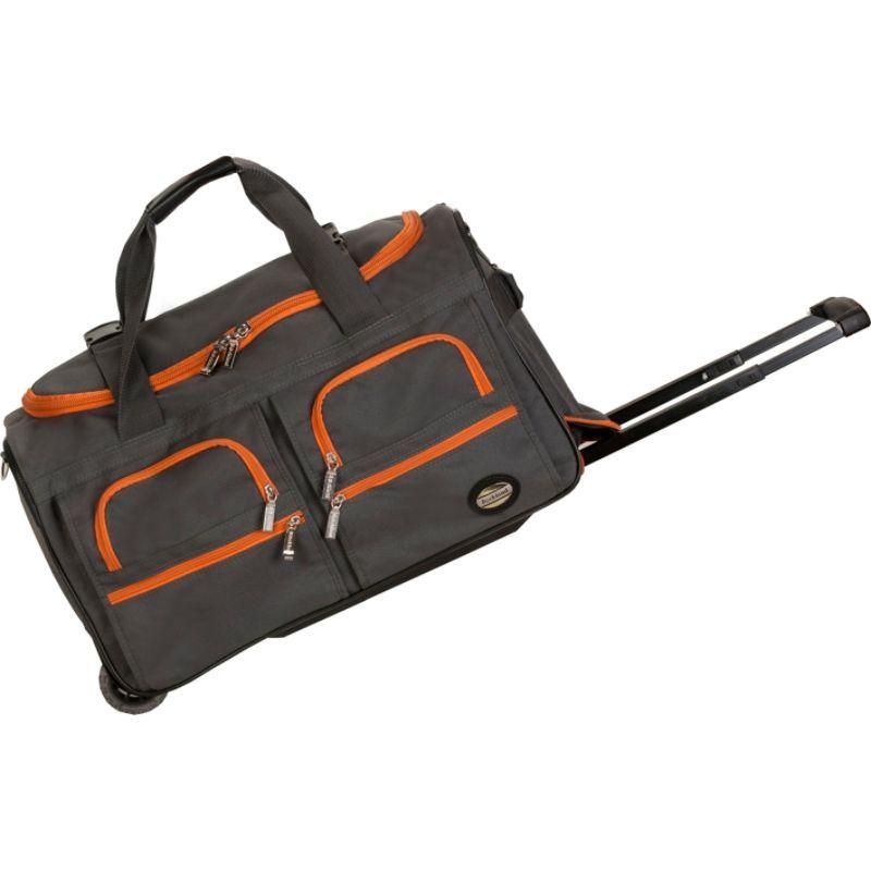 ロックランド メンズ スーツケース バッグ 22 Rolling Duffle Bag Charcoal
