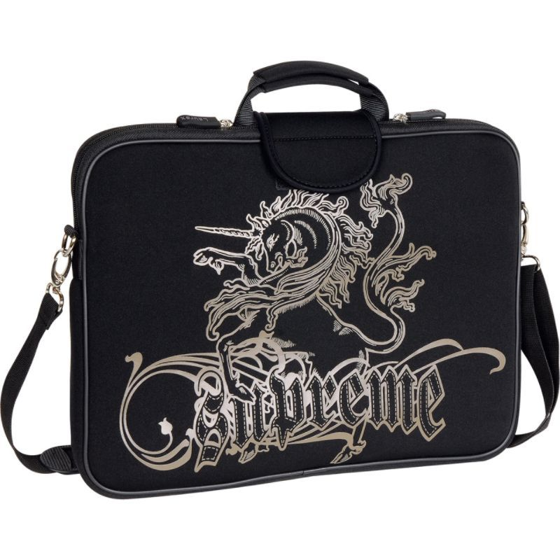 ラウレックス メンズ スーツケース バッグ 15.6 Laptop Sleeve Black Unicorn