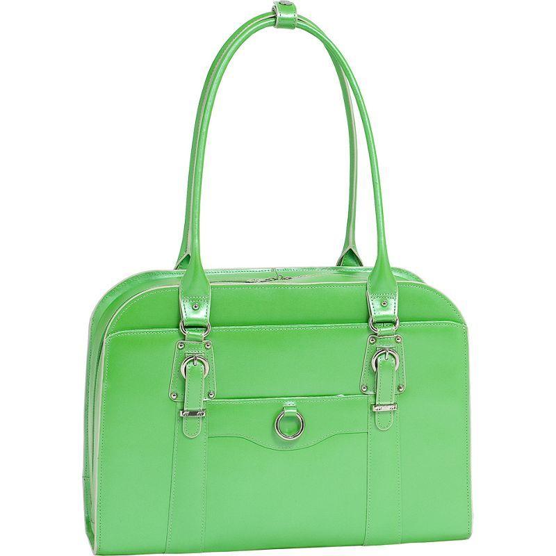 マックレイン メンズ スーツケース バッグ W Series Hillside Laptop Tote Green