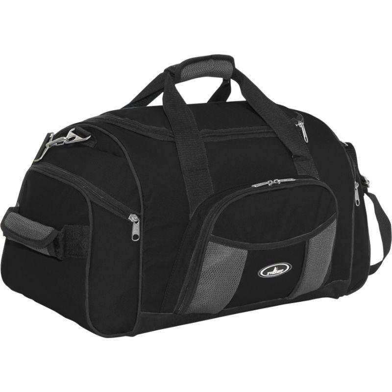 エバーレスト メンズ スーツケース バッグ 24 Deluxe Sports Duffel Black