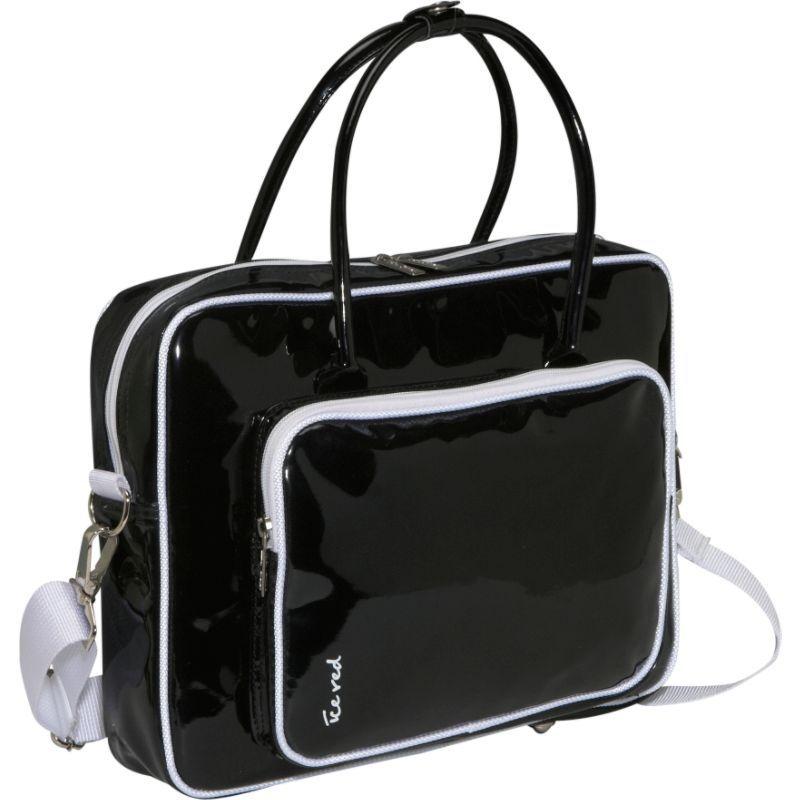 アイスレッド メンズ スーツケース バッグ Shine 2 Compact Glossy Laptop Tote Black