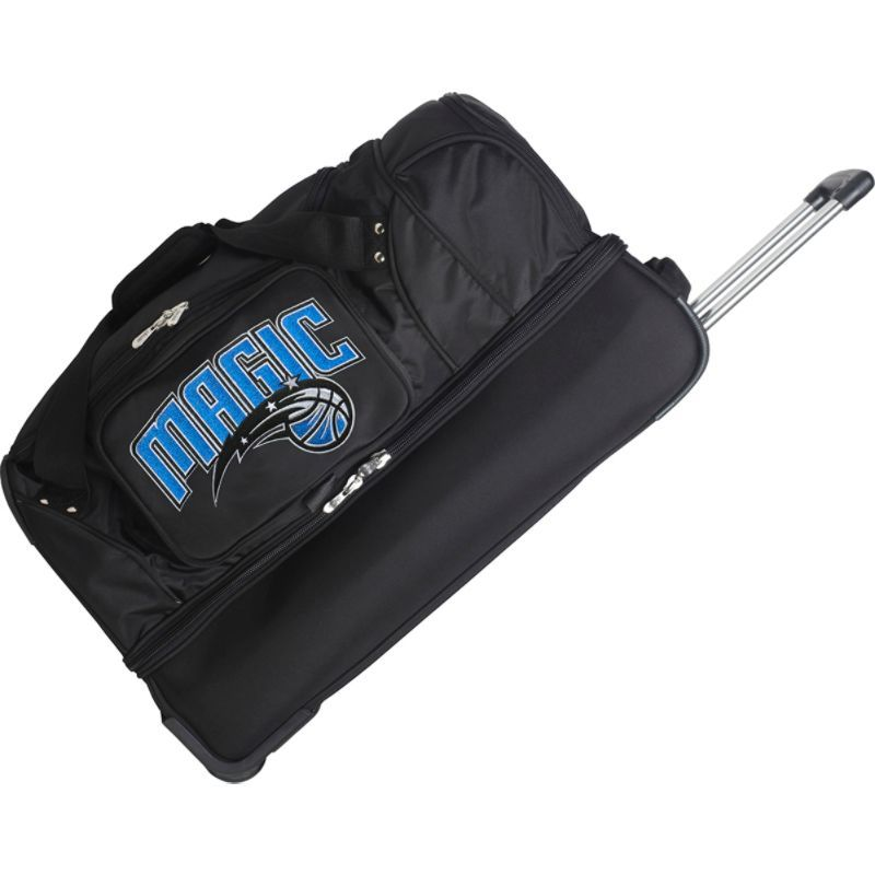 デンコスポーツ メンズ スーツケース バッグ NBA 27 Drop Bottom Wheeled Duffel Bag Orlando Magic