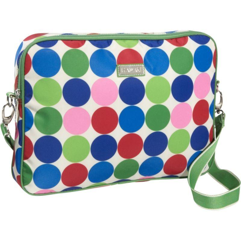 ハダキ メンズ スーツケース バッグ 15.4 Laptop Sleeve Jazz Dots