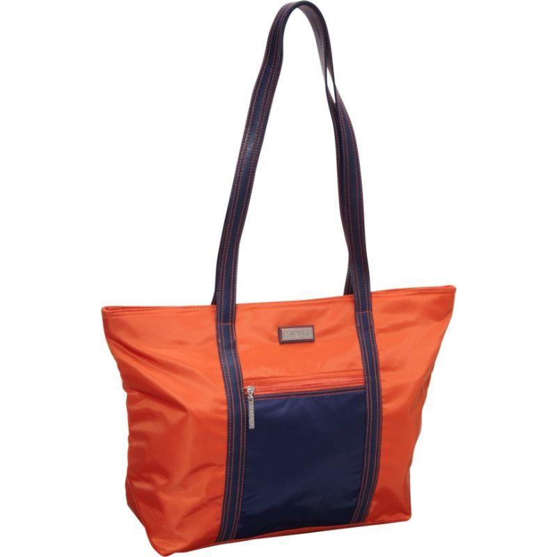 ハダキ メンズ トートバッグ バッグ Cosmopolitan Tote Orange/Navy
