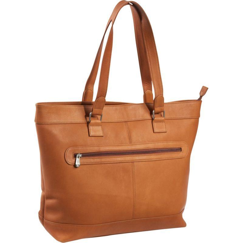 ルドネレザー メンズ スーツケース バッグ 16 Laptop Business Tote Tan