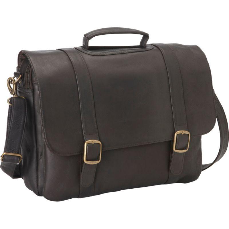 ルドネレザー メンズ スーツケース バッグ Classic Computer Brief Cafe