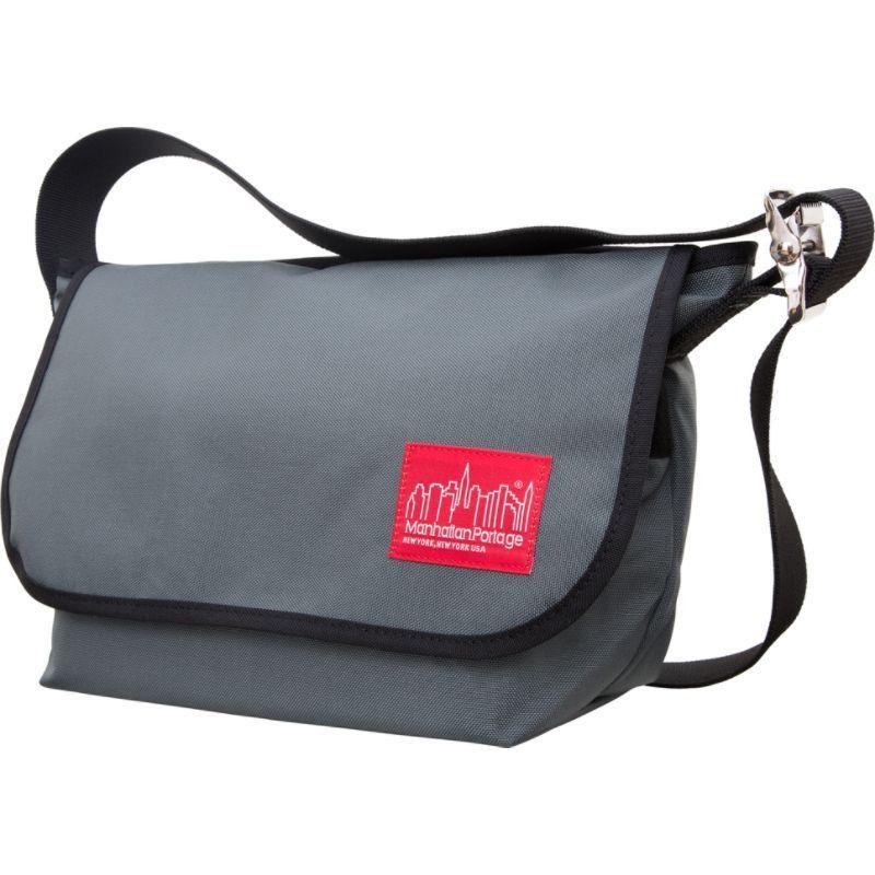 マンハッタンポーテージ メンズ ショルダーバッグ バッグ Vintage Messenger Bag JR. (M) Gray